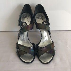 """Giussepe Zanoti Sandals 4.5"""" heels"""